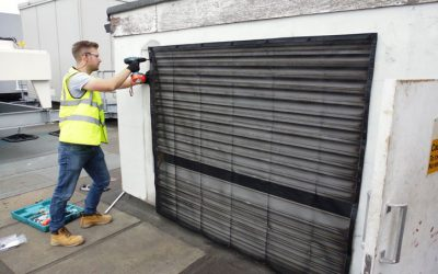 ECEX Air Intake Screens – Reduce energy and maintenance costs